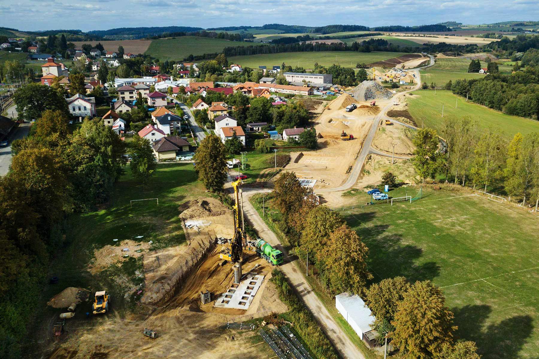 Modernizace železniční tratě Sudoměřice – Votice